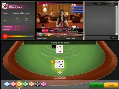live blackjack online australia